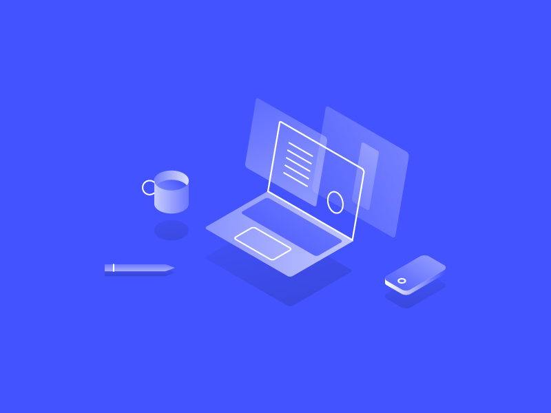 """Why I ditched Sketch for Webflow"" isometric illustration sketch webflow web design"