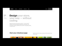 Webflow Ecommerce — Design