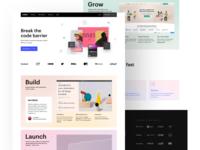 Webflow.com new home page webflow