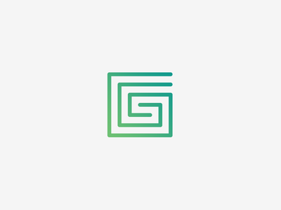 G Logo Design type grid g letter letter design logo simple minimalistic illustrator vector