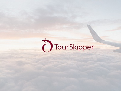 Tourskipper business logo airline company logo idea