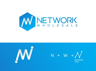 Network business company logo