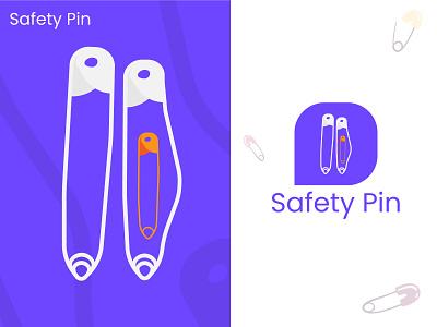 Safety Pin brand logo design brand logo logo