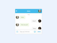 13 chat interface dailyui