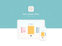 Once - Journal / Diary App