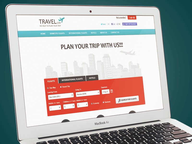 Travel & Booking (Archive 2012) ui booking checkout website flight booking travel hotel