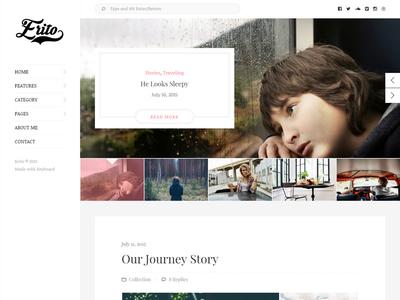 Erito - WordPress Personal Blog Theme