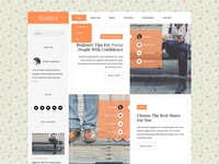 Harika Web Blog Design