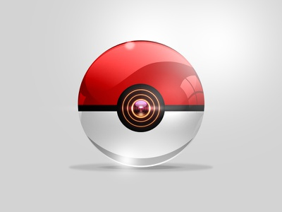 Standard Pokeball ball illustration pokemon