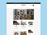 Videblog - WordPress Blog Theme