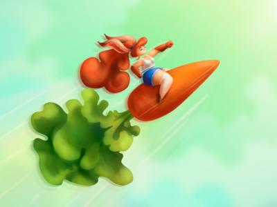 rocket-carrot