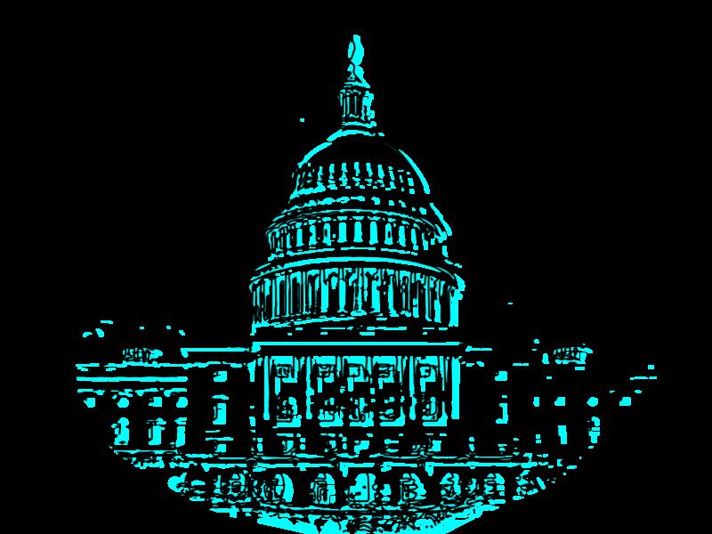 US Capitol capitol washington dc vector drawing illustration design