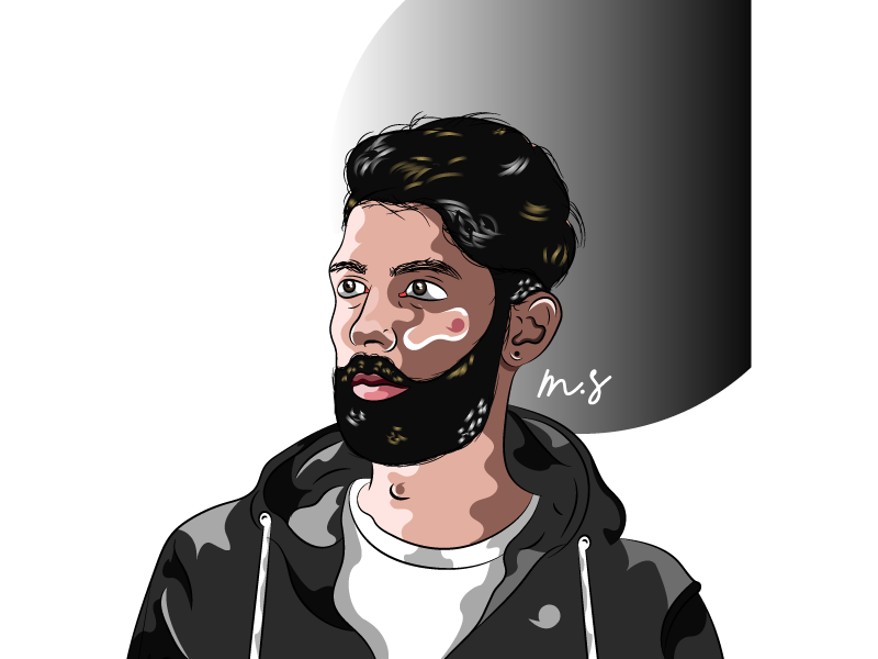 SoStyle youtube black morgansolnon sostyle illustrator illustration avatar