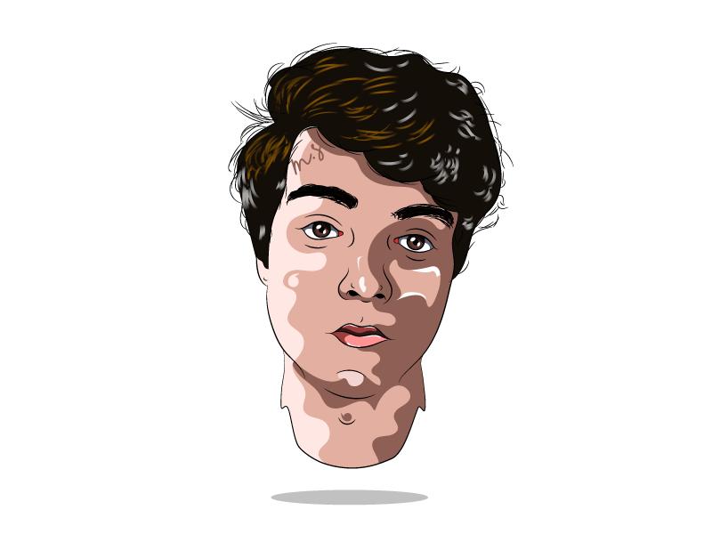 Morgan Solnon instagram morgansolnon illustrator illustration white avatar