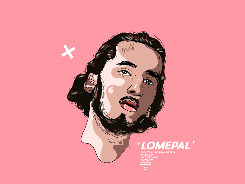 Lomepal white lomepal instagram illustrator illustration avatar