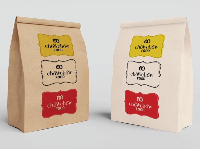 ChowChow Food branding ux ios app design logo design