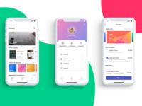 iOS App Screens