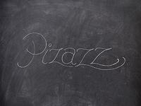 """""""Pizazz"""" Lettering Exploration"""