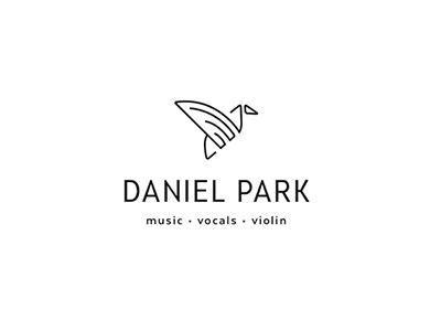 Logo Concept - Crane crane monoline minimal logo branding musician