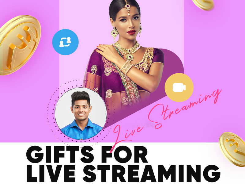 gifts for live streaming