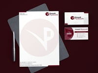 Corporate Business Card and Letterhead