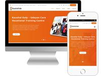 kaushalkalp NGO Webiste UI