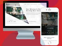 Interior Design Services Webiste UI