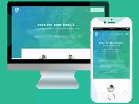 Health Consultant 4Heals UI Design