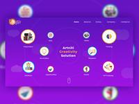 Artniti New UI Design