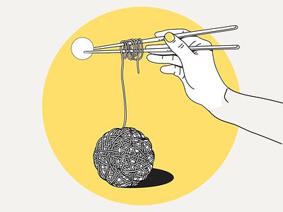 Ramen club 🍜 hand health noodle sticks ramen vector illustration