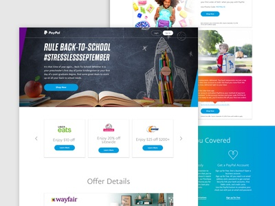 PayPal - Back to School Campaign