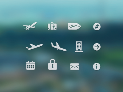 Free Travel Icons free psd psds travel icons icon download airplane suitcase tag arrow arrival depart hotel calendar lock email information