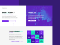 Landing Page - Event Agency