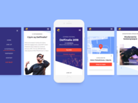 Musical Event Landing Page