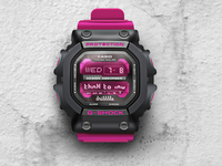collaborate casio g-shock and dribbble (thnx to inv.)