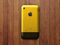 iphone gold 2g