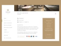 Hotel Zealax Website