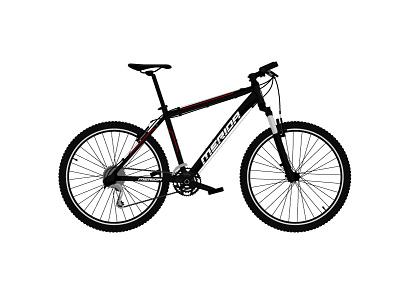 Merida - vector illustration practice daily detailed adobe illustrator illustration vector mountain bike mtb bike