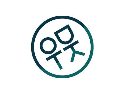 OTDK logo university hungary hungarian letterlogo green design vector logo ui typography illustrator