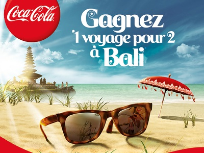 Coca-Cola Bali umbrella sun beach temple font batik trip indonesian indonesia bali coke coca-cola