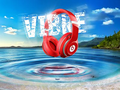 Beats Vibration Day vibrations headphones loud music ripples drop water vibes vibre dre dr beats