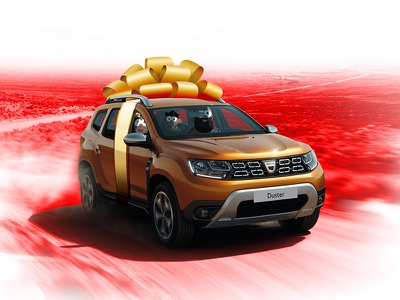 Win A Duster car present gift cartoon vahine dream kanak new caledonia family duster dacia