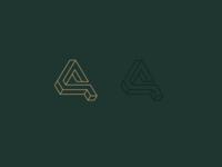 A/Ain Monogram