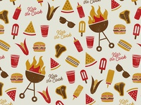 Kiss the Cook Summer BBQ Pattern