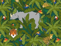 Endangered Species Pattern