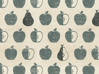 Farmhouse Apple and Pear Pattern