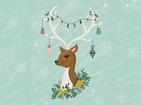 Holiday Deer
