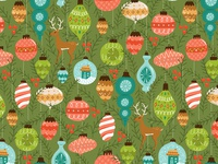 Holiday Ornament Pattern