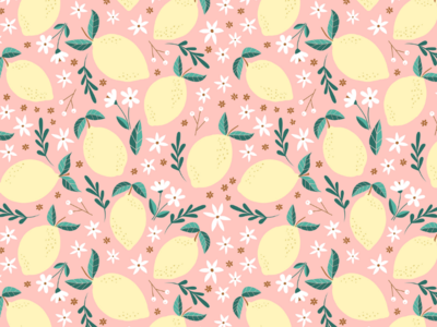 Pink Lemonade Pattern