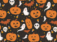 Pumpkin Party Pattern